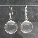 Crystal RoundCab Earrings