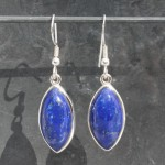 Lapis Lazuli Marquise Earrings