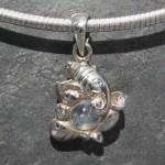 Labradorite Ganesha Pendant