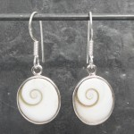Shiva's Eye Oval Earrings