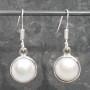 Single Pearl Earrings
