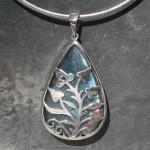 Designer Filgree Labradorite Pendant
