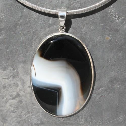 oval Sardonyx Pendant