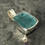 15.18 carat Aquamarine rectangle pendant 1