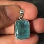 15.18 carat Aquamarine rectangle pendant