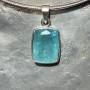 small aquamarine