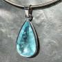 34.75 carat Aquamarine td faceted pendant7