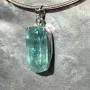 38.05 carat Aquamarine rectangle pendant 1