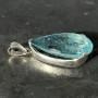 39 carat Aquamarine teardrop faceted pendant