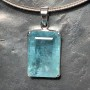 52.4 carat Aquamarine rect faceted pendant9