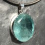 64.75 carat Aquamarine oval faceted pendant5