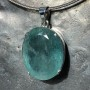 64.75 carat Aquamarine oval faceted pendant6