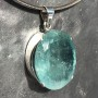 64.75 carat Aquamarine oval faceted pendant7