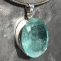 64.75 carat Aquamarine oval faceted pendant8