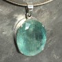 64.75 carat Aquamarine oval faceted pendant9