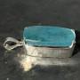 67.5 carat Aquamarine rectangle pendant 1