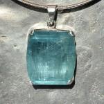 beryl aquamarine pendant