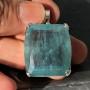 80.05 carat Aquamarine Square pendant 3