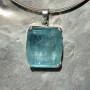80.05 carat Aquamarine Square pendant 5