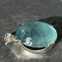 99.60 carat Aquamarine oval pendant 2