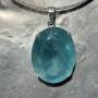 99.60 carat Aquamarine oval pendant 3