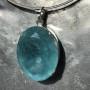 99.60 carat Aquamarine oval pendant 5