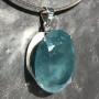 99.60 carat Aquamarine oval pendant 6