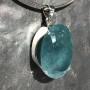 99.60 carat Aquamarine oval pendant 7