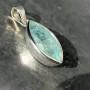 Aquamarine Marquise Faceted Pendant 13.6 cara 1