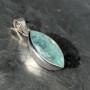 Aquamarine Marquise Faceted Pendant 13.6 carat