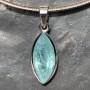 Aquamarine Marquise Faceted Pendant 13.6 carat4