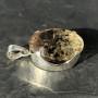 Morgonite:heliodor beryl pendant