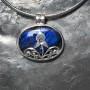 vivid blue labradorite filigree designer pendant2