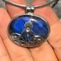 vivid blue labradorite filigree designer pendant6