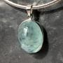 aquamarine oval pendant7