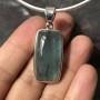 aquamarine pendant rectangle