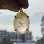 rutile quartz pendant