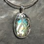 Beautiful Filigree Labradorite Designer Pendant