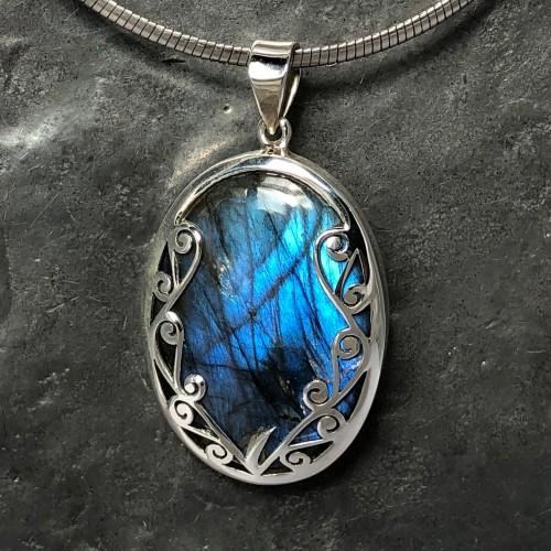 blue labradorite