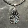 labradorite designer tree of life filigree pendant2