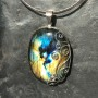 multicolour labradorite wire design with moonstone