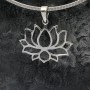 Full Bloom Lotus Pendant 1