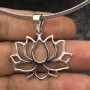 Full Bloom Lotus Pendant 3