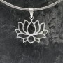 Full Bloom Lotus Pendant